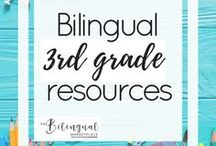 Bilingual 3rd grade Resources / You'll find a variety of activities,resources and ideas related to dual/bilingual 3rd grade students.