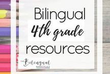 Bilingual 4th grade Resources / You'll find a variety of activities,resources and ideas related to dual/bilingual 4th grade students.