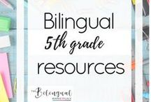 Bilingual 5th grade Resources / You'll find a variety of activities,resources and ideas related to dual/bilingual 5th grade students.