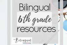 Bilingual 6th grade Resources / You'll find a variety of activities,resources and ideas related to dual/bilingual 5th grade students.