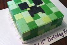 Minecraft party / 150+ Minecraft Party Ideas - Decorations, Cake, Goodie Bags, Free Printable Invitations and Games, Party Favours for Kid's Birthday Parties.