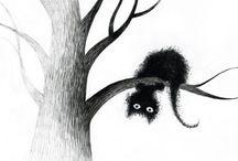 Jagoda / Koty, kociaki, rysunki, słodkie zwierzątka...