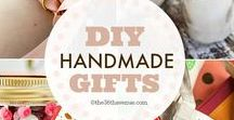 Handmade Gifts / Handmade Gifts are a unique way to express you care about somebody. Here are some ideas I found. I hope you find them inspiring. Make something!