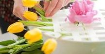 Flower Arranging / Flower Arranging is a beautiful art. Love flowers!