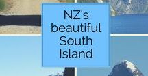 New Zealand South Island delights / My own beautiful country, amazing scenery and trips in the South Island