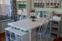 Craft spaces / by Laura Evans
