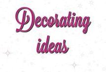 Decorating Ideas/Tricks/Tips