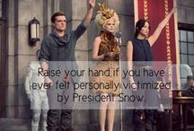 Mean Girls of Panem / I love the Hunger Games trilogy & have a weakness for Mean Girls quotes. Enjoy my tomfoolery: http://meangirlsofpanem.tumblr.com/ / by Renee Rominger