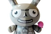 T O Y •  S T O R Y  / I'm a maniac collector of vinyl toys!! I'm going crazy every time I go in a kidrobot shop and I want to buy anything! I also collect Elvis action figure.