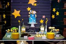 Party Time / Because apparently we're at that age when everybody starts having babies. And I can't resist planning a cute party!