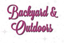 Backyard and Outdoor Landscaping
