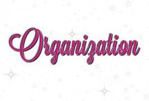 I ❤️ Organization! / Even the crafty areas of my life must be organized!