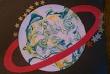 Preschool - Outerspace theme / by Jody Miller Matthews