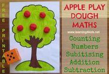 Preschool - Apple theme / by Jody Miller Matthews