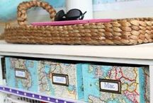 DIY - Storage, Organizing. Little Helpers / by step-van-b