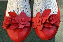 crazy for shoes / I love extravagant, colorful and particular shoes