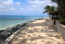 Barbados Boardwalks / Stroll along the waterfront enjoying tropical beaches, gorgeous scenery and breathtaking sunsets!