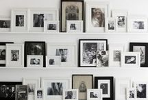 Picture Arragement / Ideas on how to arrange pictures in my new house
