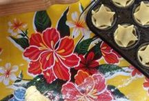 Mexican Oilcloth / So many uses for these beautiful Mexican oilcloth designs.