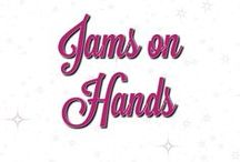 Jams on Hands / I love having pretty nails and I'm addicted to Jamberry Nail getjammedup.com