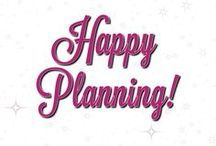 Happiness = Planning! ❤️ / You can't run a successful business without having a plan! I have bought a Happy Planner and use it to run my Jamberry business! I love my Happy Planner!
