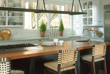 Kitchen Reno Ideas / love this kitchen, made better with George Clooney in it :)
