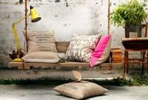 Outdoor Styling / Fabrics, pots, accessories, colours, plants, rugs, shades for outdoor spaces