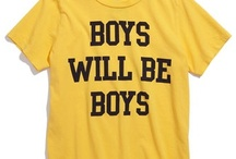 For the boys / Our little boys are so fun, mysterious, yet loving. It's a priviledge to have two of them! / by Catherine Neace