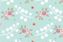 Pretty Patterns & Color Palettes / by Sarah Jones