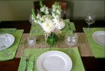 My Flower Arrangements & Tablescapes / Flower arrangements and table settings I created. / by Sarah Jones