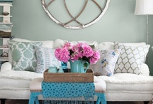 Living Room Inspiration / The heart of the home. / by Sarah Jones