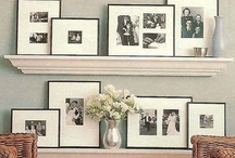 Wall Art, Pictures & Collages / Creative ideas for those bare walls... / by Sarah Jones