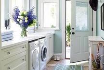 Laundry Room Inspiration / by Sarah Jones