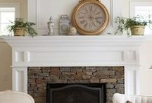 Fireplaces / There is nothing like a cozy fireplace.  I love almost every style and I continue to pin them here.