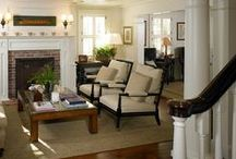Family Rooms/Living Rooms / Cozy family room and living room inspiration.