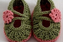 Booties and Shoes / by Gail Van Camp