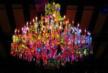 Chandeliers / by Deanna Sevigny
