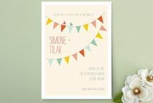 Fonts & Invitations / by Sarah Jones