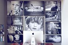 {photo displays + gallery walls}