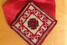 Noyemberian Embroidery / A group of women cooperating with Promote Noyemberian NGO create these finely embroidered products.  Embroidery takes much skill and time to create, thus Homeland Handicrafts tries to make small, attractive products using this traditional skill.