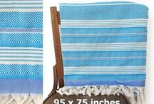 Turkish Cotton Towels / Peshtemal Towels and Peshkir Hand Towels