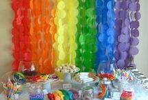 Rainbow birthday / by Sarah Olson