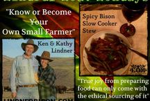 Ethical Eating! / Dedicated to supporting local & regional ranchers & farmers that produce animals that are free-range, naturally fed & raised in a humane manner without hormones & antibiotics. Against industrial farming in every respect for the sake of our health & the health of our planet.  Join the Ethical Omnivore Movement! / by Linda Hughes