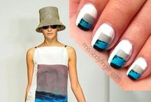Nail Art, Nail Care, & Nail Designs & Nail Ideas / Ideas for doing your nails - home manicures and pedicures, nail art, nail care and home application tips. #nails #fingernails #nailart #nailcare nail art, nail designs, nail ideas, nails / by Girls Gone Sporty TM