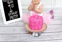 ~ 1st Birthday ~ / Niece Callie is turning one soon...Time to start planning!  / by Holly Franklin