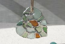 Seaglass Jewlery / I have a massive collection of sea glass from around the world, including some rare colors. I love anything with sea glass in it! / by Linda Hughes