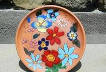 Sisian Ceramics / Vahagn and Zara from Sisian have been producing beautiful ceramics for several years in their workshop there, in the shadow of the church in town.  They love receiving visitors who love to try their hand at the throwing wheel or glazing process, and to take home fab souvenirs!