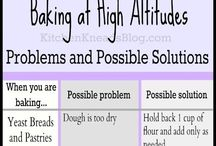Baking High / High ALTITUDE baking, that is!  / by Linda Hughes
