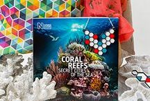 Coral Reefs: Secret Cities of the Sea merchandise / Coral Reefs: Secret Cities of the Sea merchandise. For news about our latest products and competitions, visit http://www.nhmshop.co.uk or follow @Shop_at_NHM on Twitter.  / by Natural History Museum, London