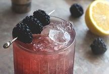 Blackberries / Blackberries in amazing combinations and recipes - not just sweet stuff either. / by Anna Hamill